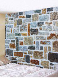 Stone Wall Print Tapestry Art Decoration -