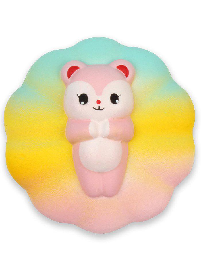Shops Rainbow Bear Slow Rising PU Squishy Squeeze Toy