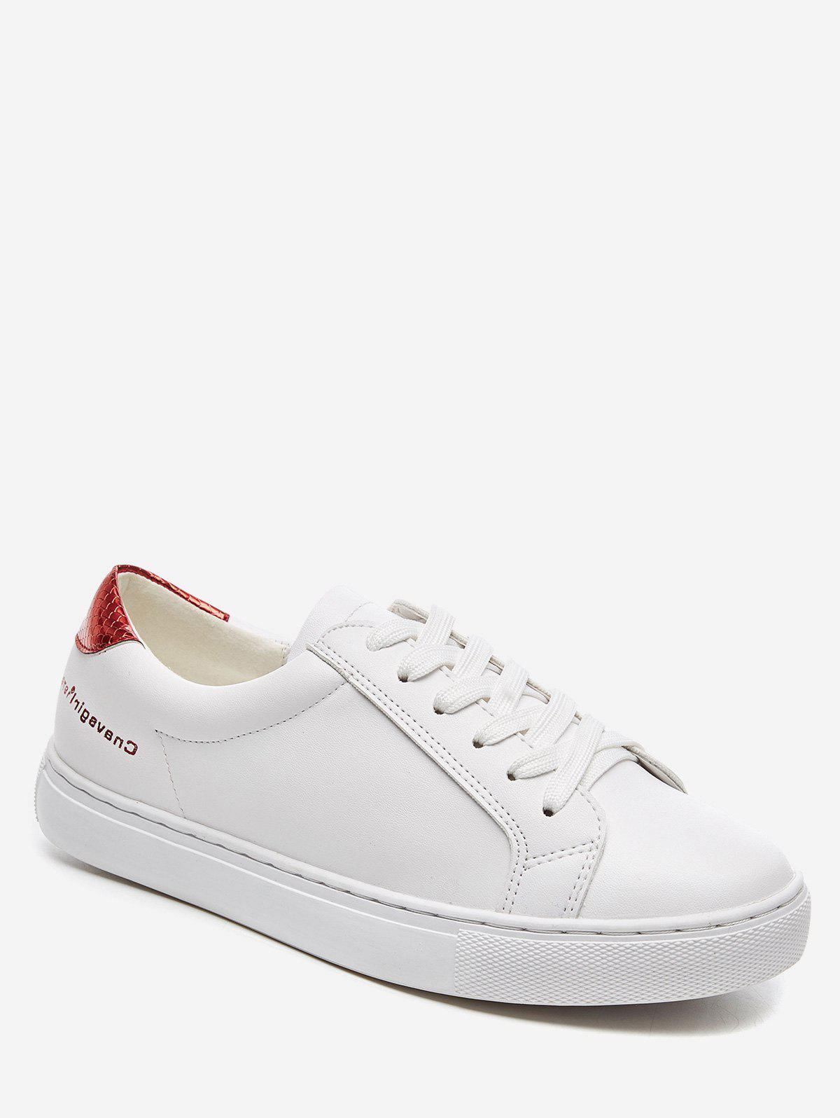 Fancy Casual Contrasting Color Low Top Sneakers