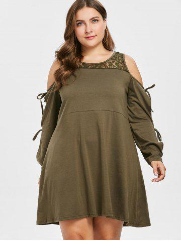 Plus Size Trapeze Dress Free Shipping Discount And Cheap Sale
