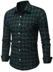 Chest Patch Pocket Long Sleeve Shirt -