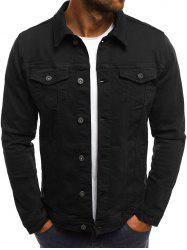Chest Flap Pockets Casual Jacket -