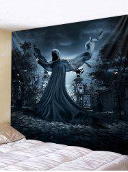 Ghost Printed Halloween Wall Hanging Tapestry -