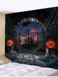 Hallowmas Pattern Wall Tapestry -