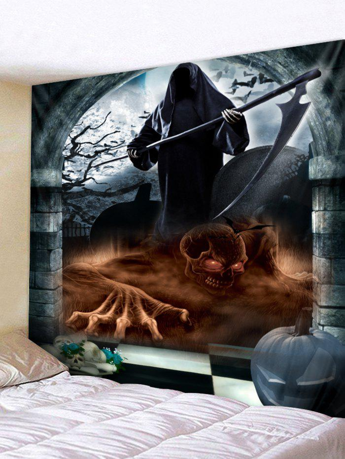 Affordable Wall Hanging Art Halloween Death Print Tapestry