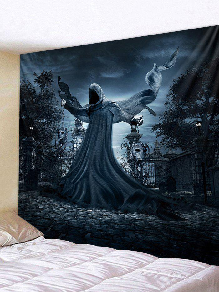 Hot Ghost Printed Halloween Wall Hanging Tapestry