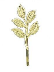 Leaf Design Alloy Hair Clip -