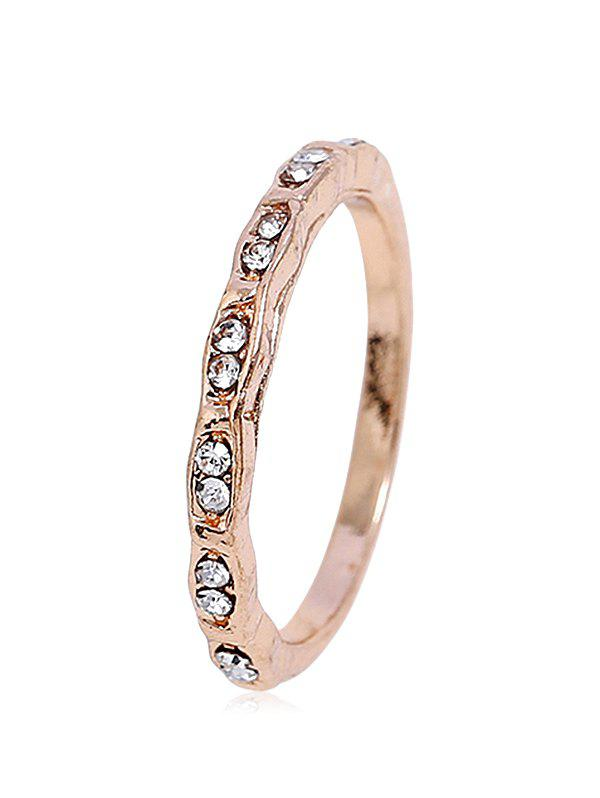 Shop Simple Style Rhinestone Ring