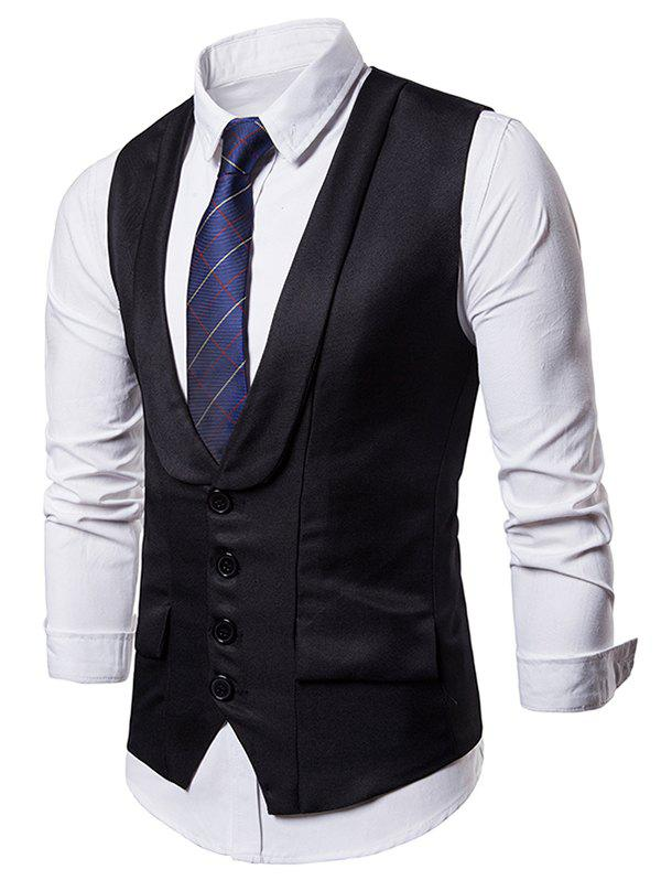 Buy Layered Single Breasted Dress Vest