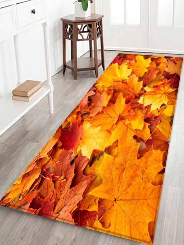 Best Maple Leaf Water Absorption Floor Rug