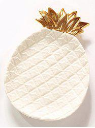 Ceramic Pineapple Ring Bowl Jewelry Plate -