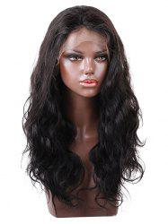 Free Part Long Wavy Lace Front Human Hair Wig -