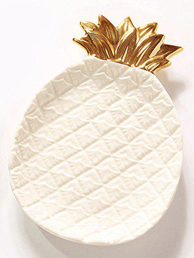 Latest Ceramic Pineapple Ring Bowl Jewelry Plate