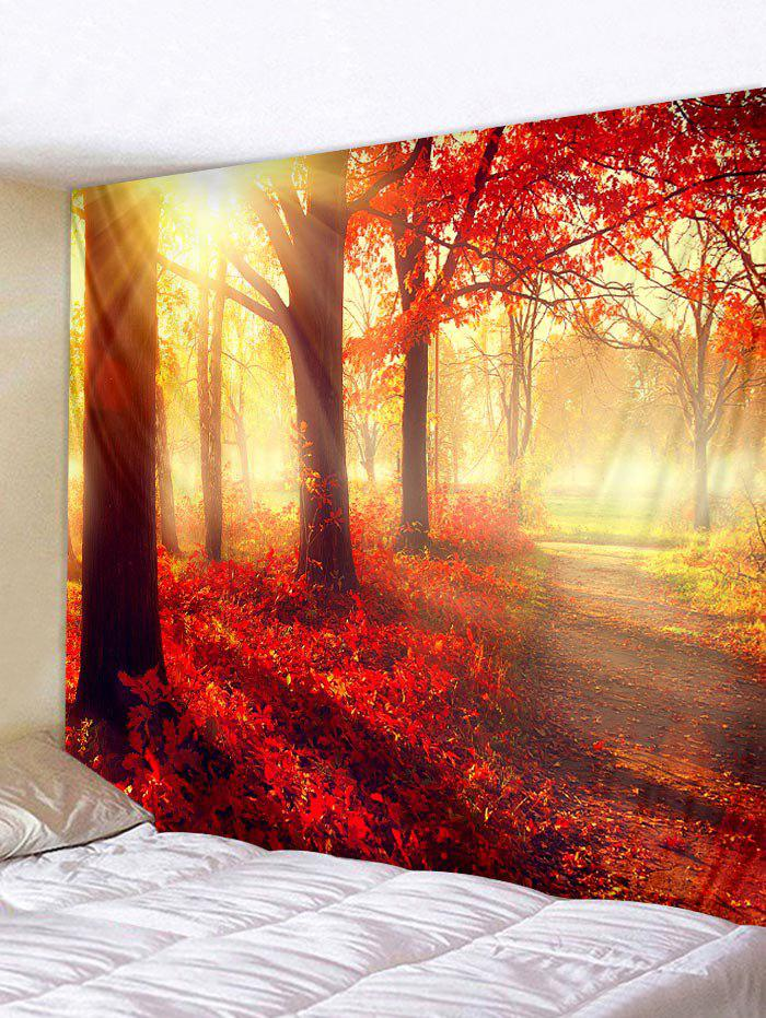 Store Maple Leaf Tree Print Tapestry Wall Art Decoration