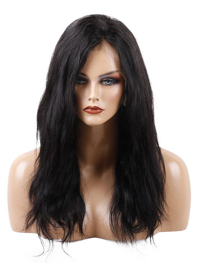 Outfits Free Part Long Natural Straight Full Lace Human Hair Wig