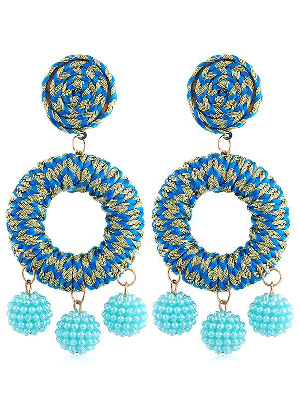 Sale Boho Beads Ball Drop Earrings