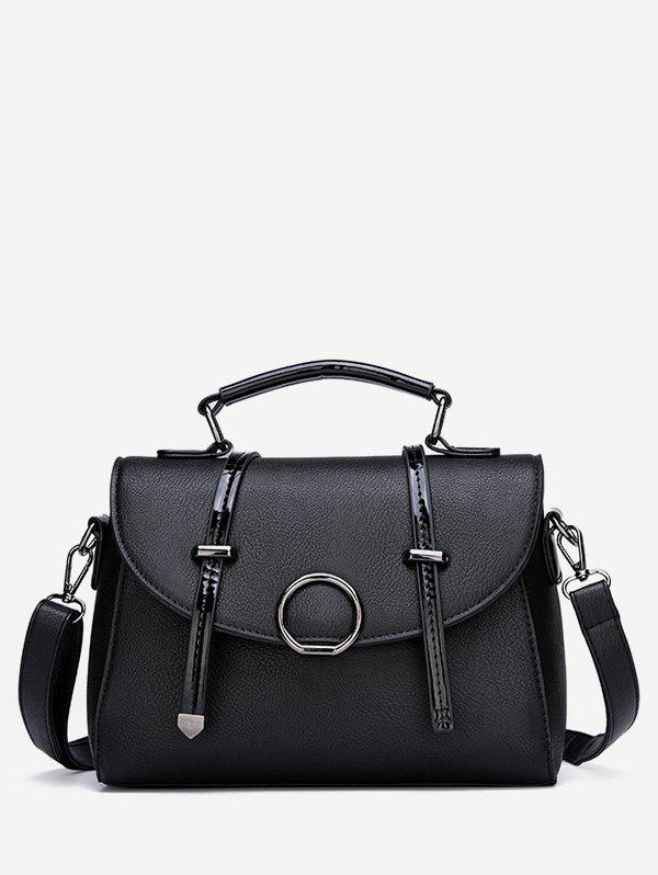 Sale PU Leather Cover Top Handle Tote Bag