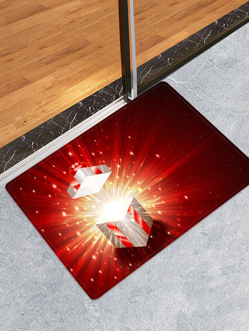 Hot 3D Christmas Gift Water Absorption Floor Rug