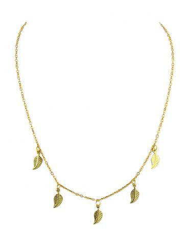 Leaves Design Chain Necklace