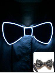 Halloween Accessories Light Up Glowing Bow Tie -