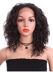 Medium Free Part Water Wave Synthetic Lace Front Wig -