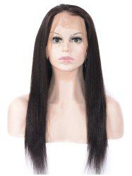 Free Part Straight Lace Front Human Hair Wig -