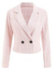 Button Detail Blazer -