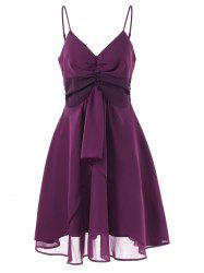 Cami Straps Empire Waist Swing Dress -