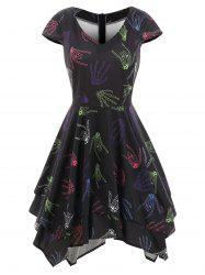 Skeleton Hands Halloween Dress -