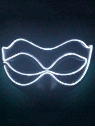 Light Up Glowing Mask Halloween Accessories -