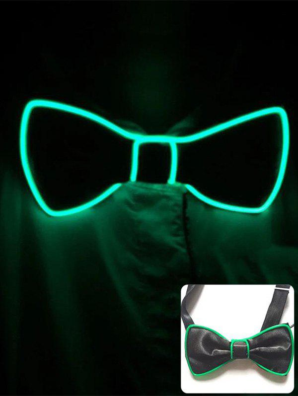 Outfit Halloween Accessories Light Up Glowing Bow Tie