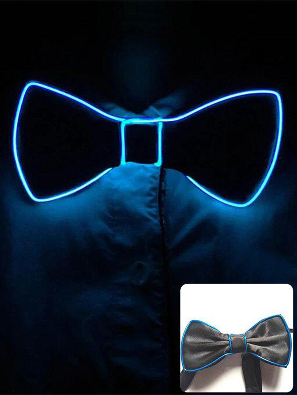 Online Halloween Accessories Light Up Glowing Bow Tie