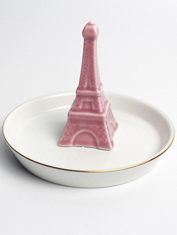 Hot Ceramic Eiffel Tower Ring Bowl Jewelry Dish