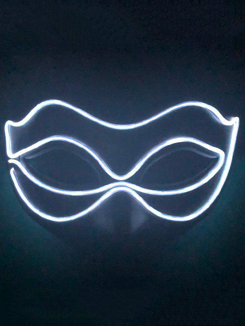Trendy Light Up Glowing Mask Halloween Accessories