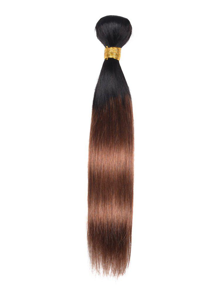 Online Ombre Straight Indian Human Hair Weave
