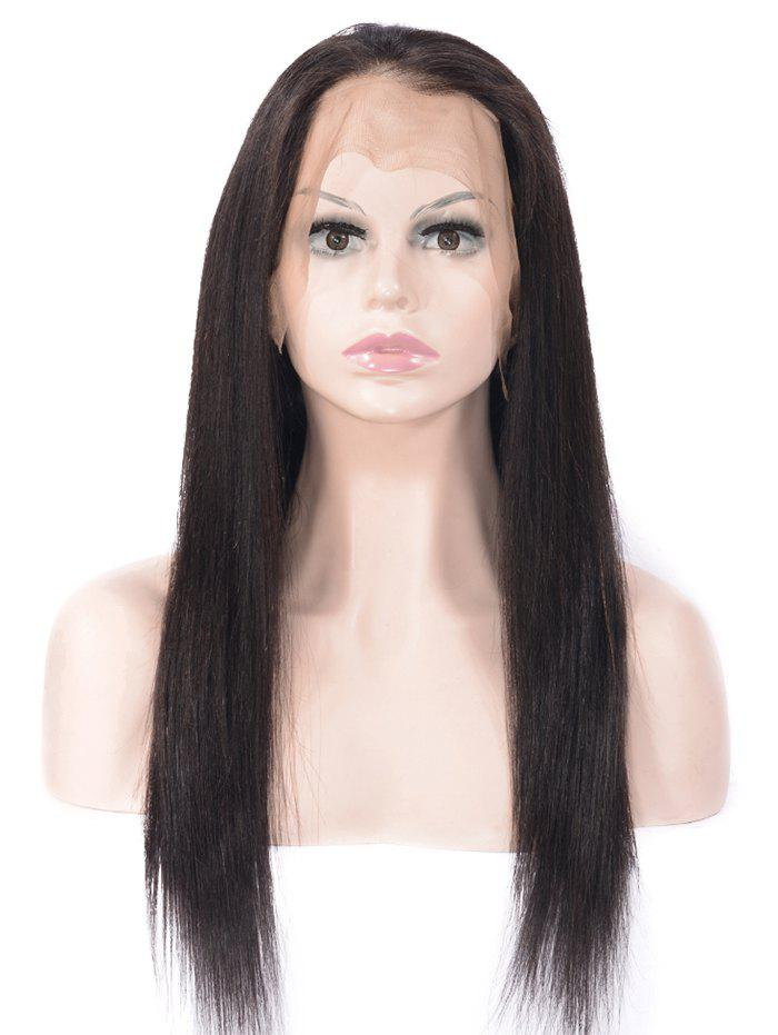 Fancy Free Part Straight Lace Front Human Hair Wig