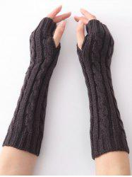 Vintage Infinity Crochet Knitted Arm Warmers -