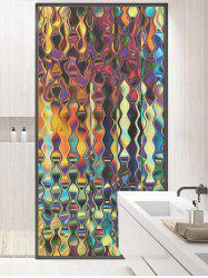 Frosted Iridescent Glass Sticker for Window Bathroom -
