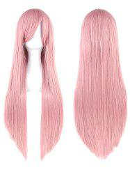 Long Inclined Bang Straight Party Cosplay Synthetic Wig -
