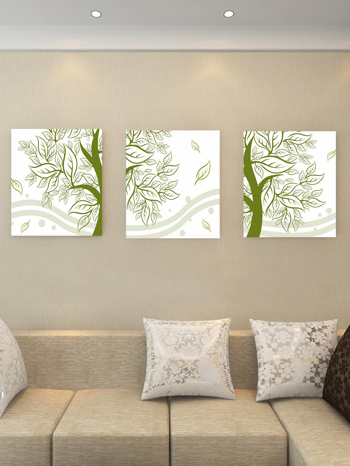 Outfits Unframed Tree Leaf Canvas Paintings
