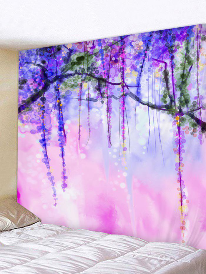 2019 Wall Hanging Art Tree Dot Print Tapestry Rosegal Com