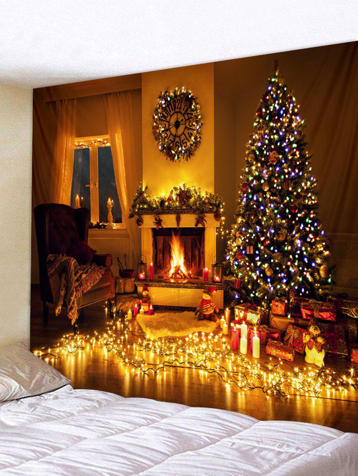 Online Christmas Home Lamp Printed Tapestry Wall Art Decor