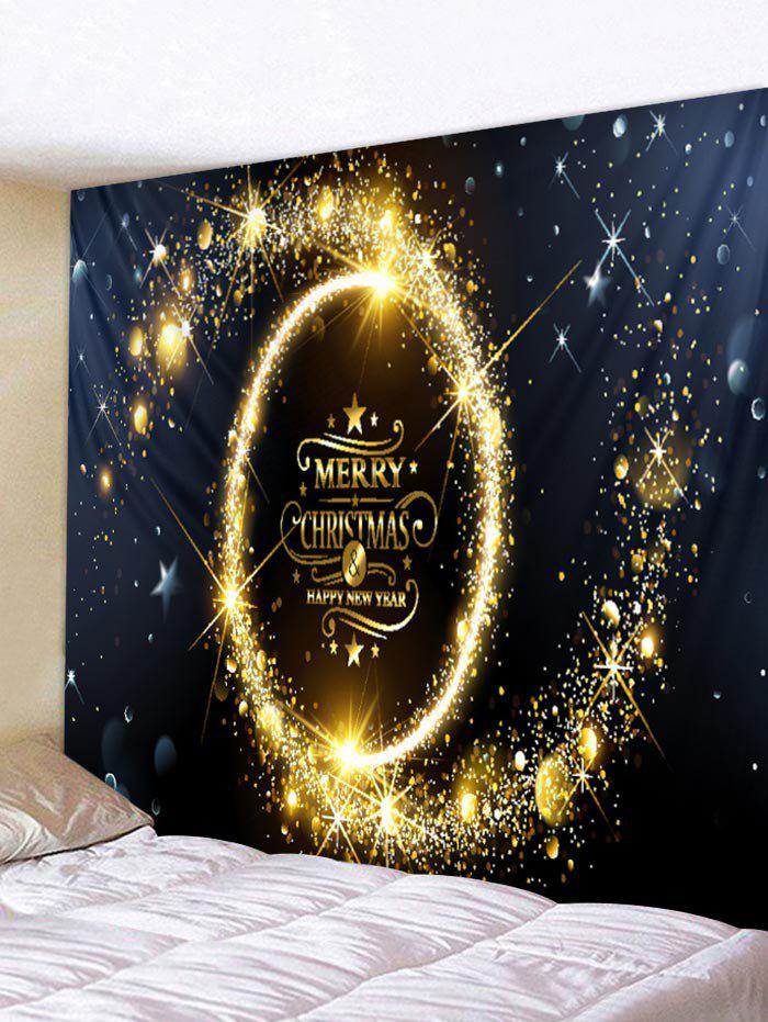 Merry Christmas Tapestry Wall Art Home Decoration