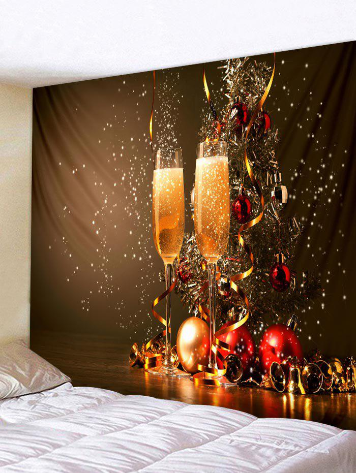 Buy Christmas Glass Tapestry Wall Art Home Decor