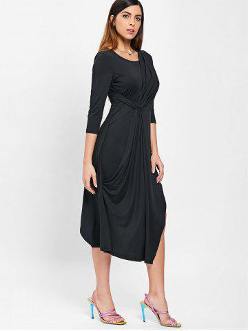Ruched Front Slim Fit Dress