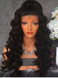 Free Part Long Wavy Lace Front Synthetic Wig -