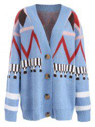 V Neck Button Up Cardigan -