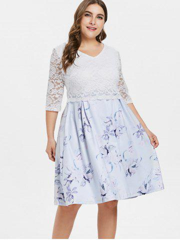 Plus Size White Lace Dress Free Shipping Discount And Cheap Sale