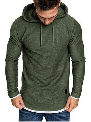 Contract Color Pullover Hoodie