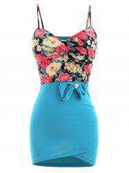 Floral Bodycon Slip Dress -